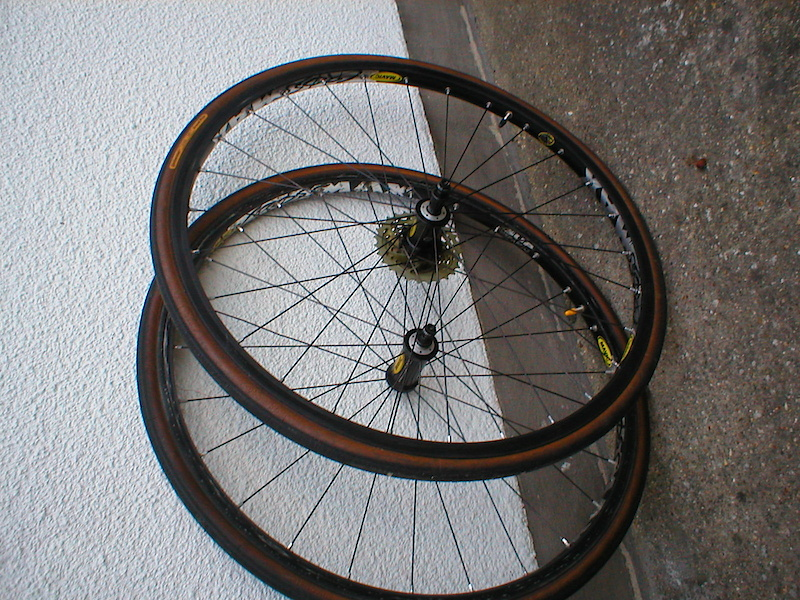 mavic crossmax mk1. wheels only. £115