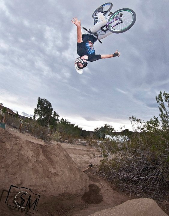 If you live anywhere by LA and you have dirt jumps hit me up, cause Rob and I want to ride and help build.