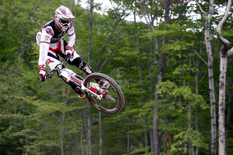 Greg in flight.