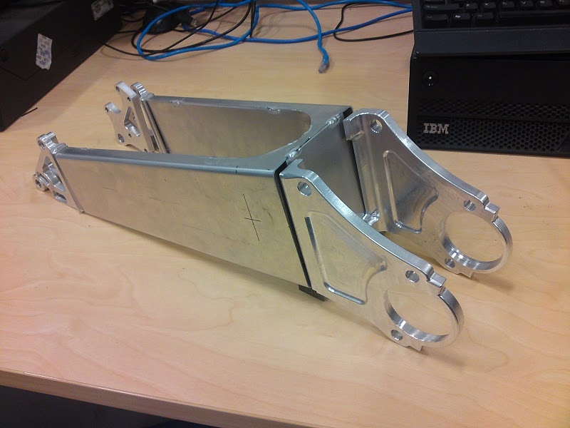 The Jezken's swingarm in the early stages of life.