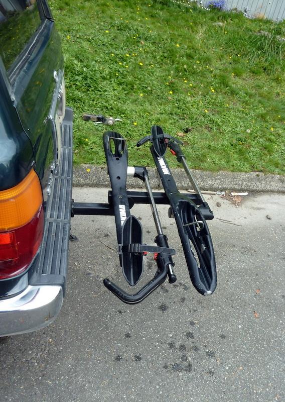 Yakima hookup hitch bike rack