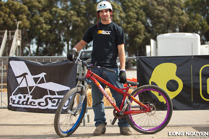 Garrett Robertson rocking his Specialized P series