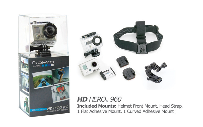The GoPro 960 (as its more commonly called) is basically a stripped down version of the