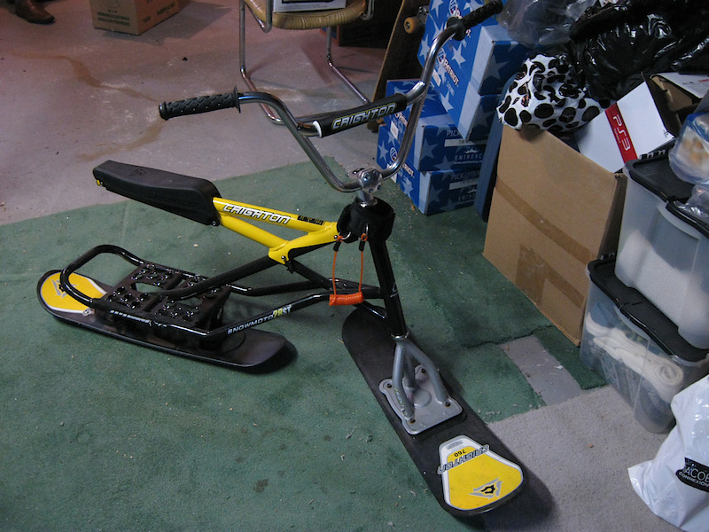 Bikes Online Canada >> Crighton Snow bike For Sale