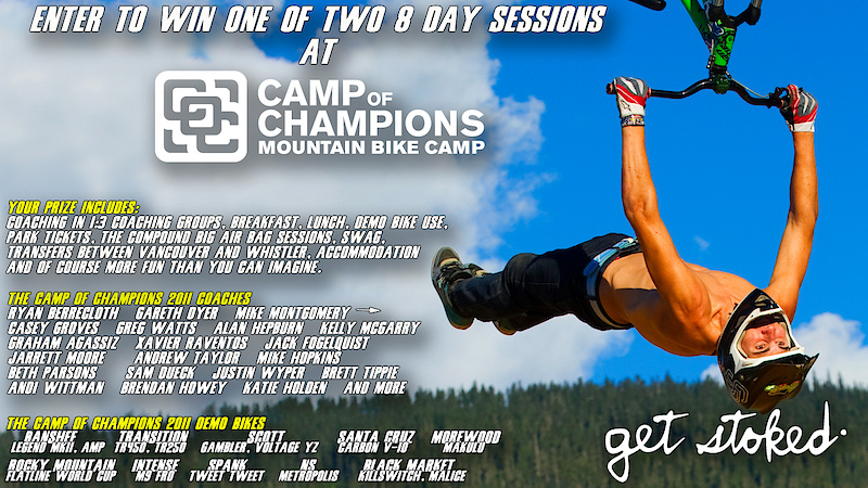 Episode 8 Prize Pack - 1 week at the Camp of Champions