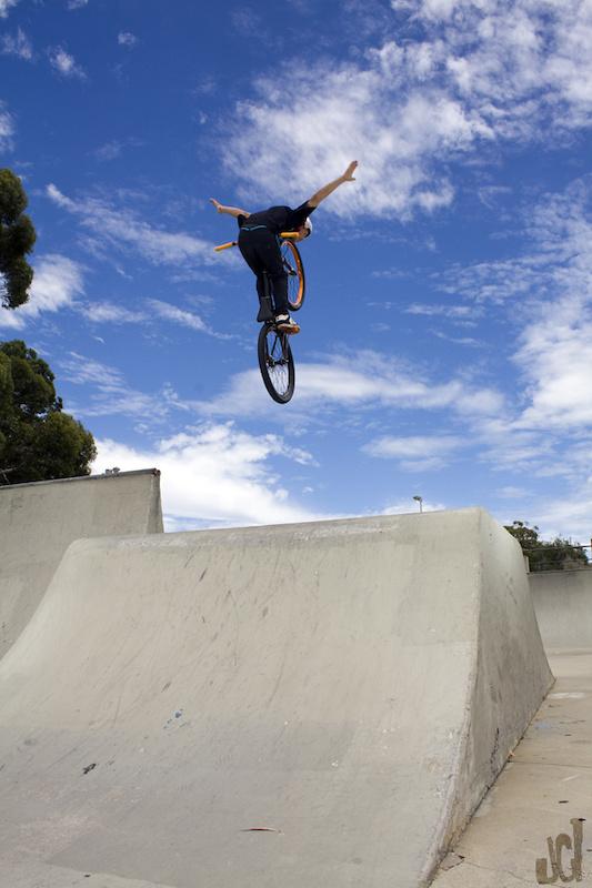 Old school no hander  Rider - Lewis Nolan  Copyright Lawrencephotog