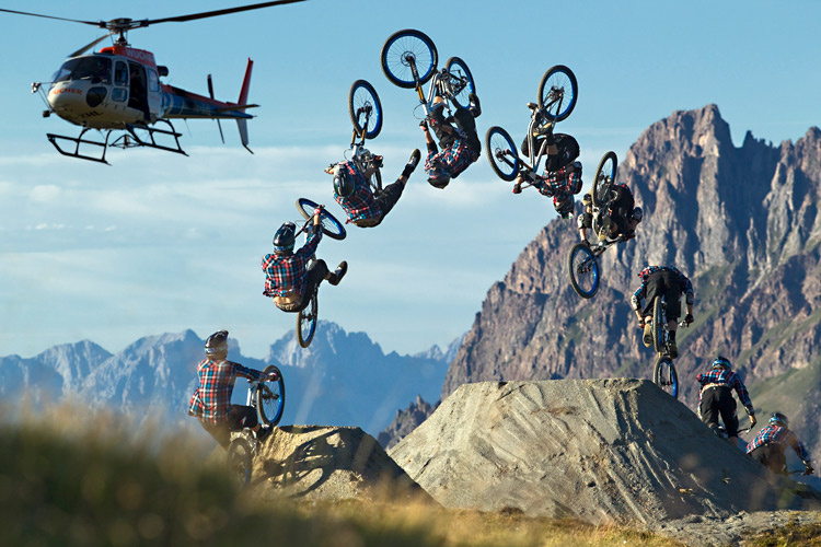 Framed - The Pilot shoot by Markus Greber, Bike: Giant Reign SX