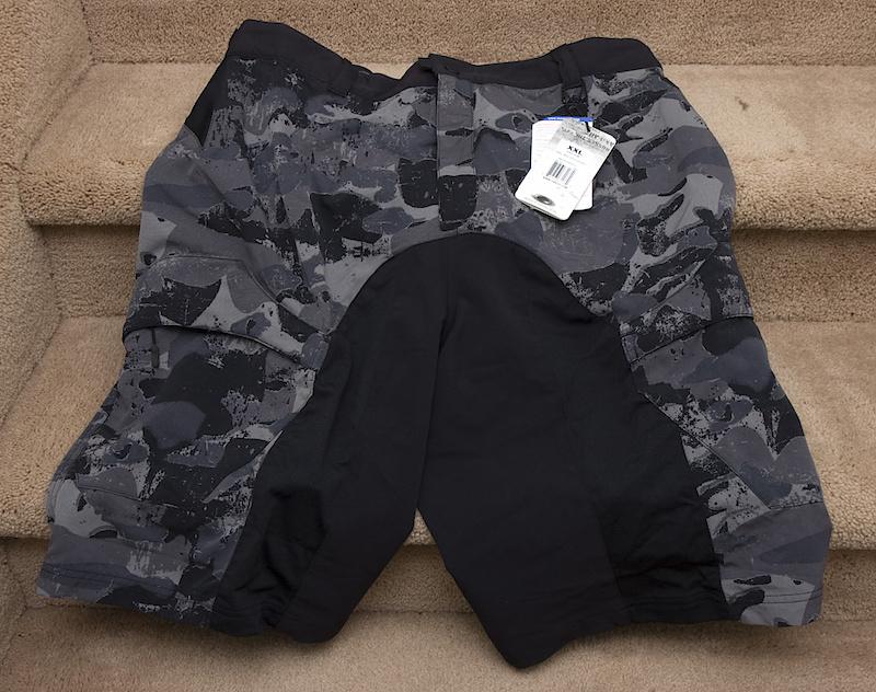 ffa5103ec7c Oakley Trail Ballistic Mountain Bike Shorts Men s XXL Urban For Sale