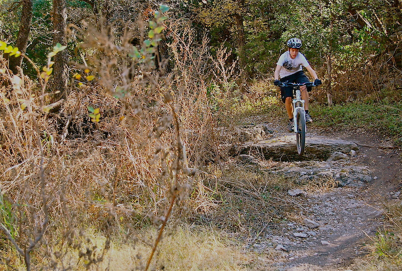 Salado Creek Mountain Bike Trail San Antonio Texas