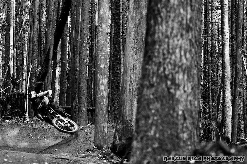 Cory Leclerc, a Williams Lake native, tests out the world's longest pumptrack in Squamish, BC. Like Cory, a lot of heavies are making the move to live in Squamish. Who would have thought that a mountain/ocean town in between Whistler and Vancouver could become so popular. For many, Squamish just makes sense.