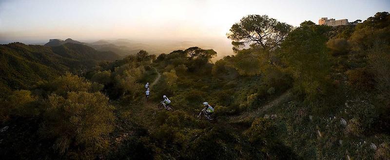 Trek Gravity Girls on Mallorca, Spain