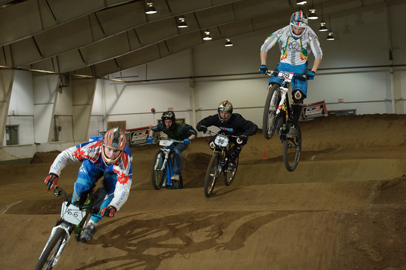 Shmyr, Brown, Woolnough & Murphy in the final gate drop of the Series. The Pro-Am Mash-Up Final. 'Nuff said.