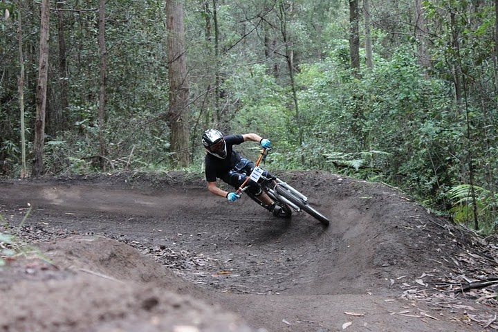 ourimbah downhill on the HT