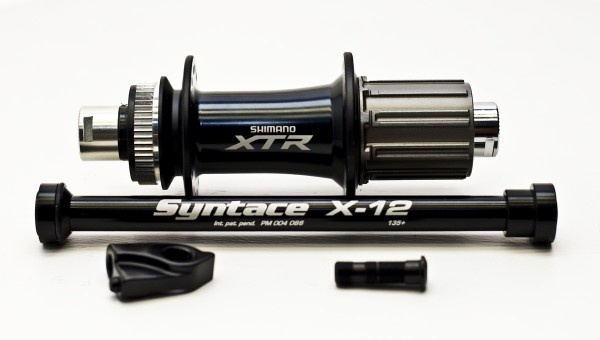 Cycle Rear Thru-Axle 135 x 10 mm with Nut fit Shimano Saint
