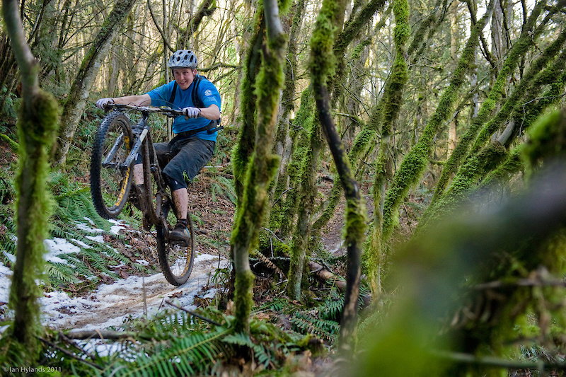 Warm Winter day - check. Fun bike - check. Stupid grin - double check. Every ride aboard the EVO was a blast. This is a bike that wants to make you smile, even on the tamest trails.