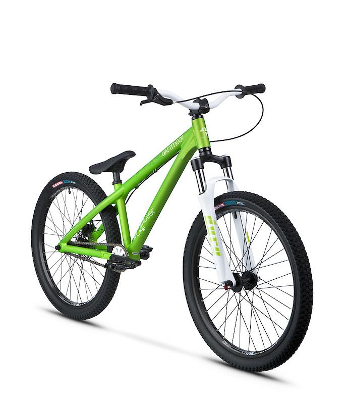 "Dartmoor Two4Player complete bike. Final outlook for this bike. Alu frame with 24"" wheels for dirt jump/skatepark. dartmoor-bikes.com"