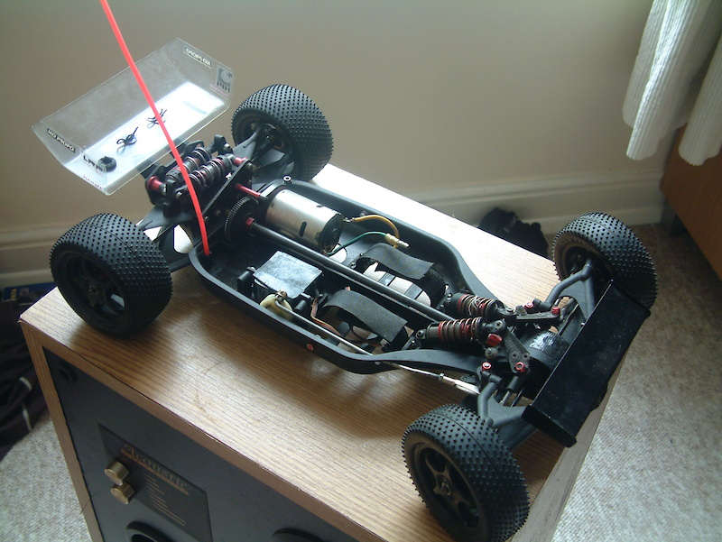 Tenth Technology Predator Xk98 Rc Car Rolling Chassis