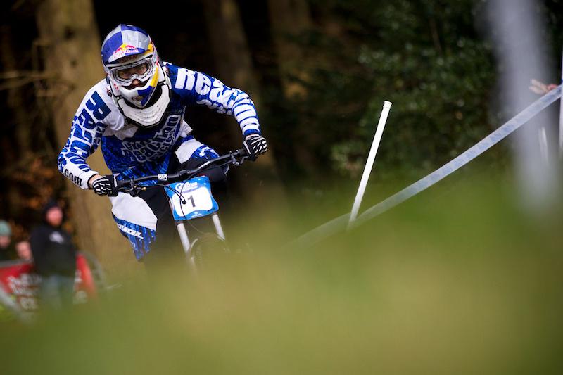 Matti Lehikoinen on his race run