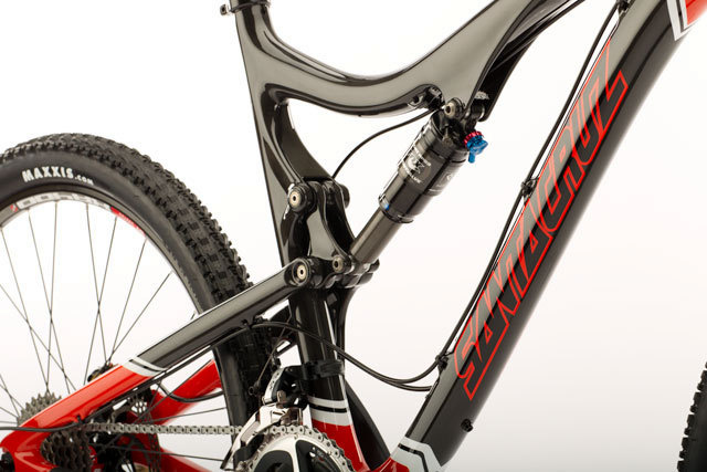 Carbon fiber frame and swingarm