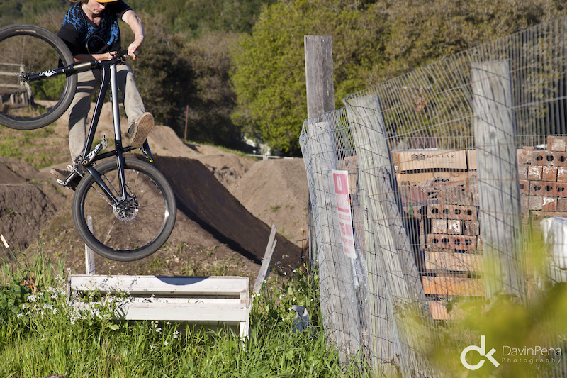 An old broken ramp is all it takes to get Guy to play.