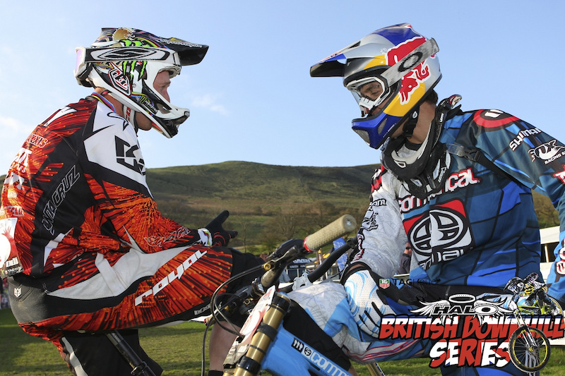 Steve Peat and Gee Atherton