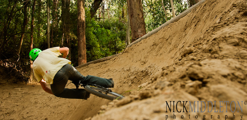 Nick slashes the first quarter like it one massive berm