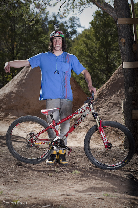 Eric Lawrenuk came out for his second year in a row at the Ranchstyle Mountain Bike Festival