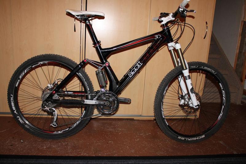 2010 Scott Genius 30 Carbon Size Medium For Sale