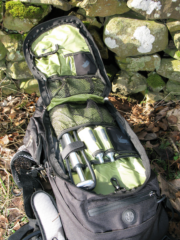 Individual pockets and storage space helps to keep everything separate and easy to find. There is enough room in the Great Divide bag for pretty much any adventure.