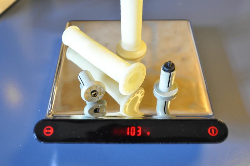 renthal kevlar grips weight