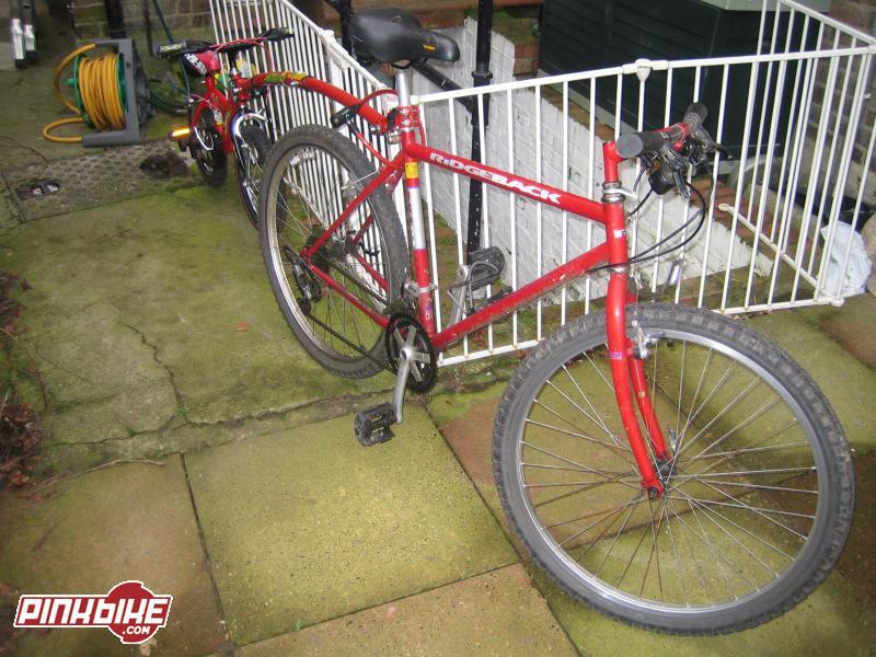 Heavy, heavy bike but fun