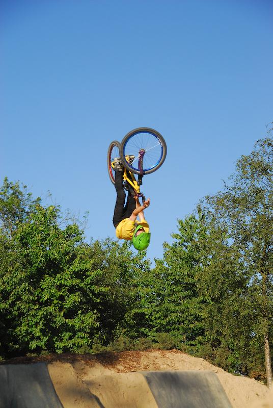 flip bars on the new bike