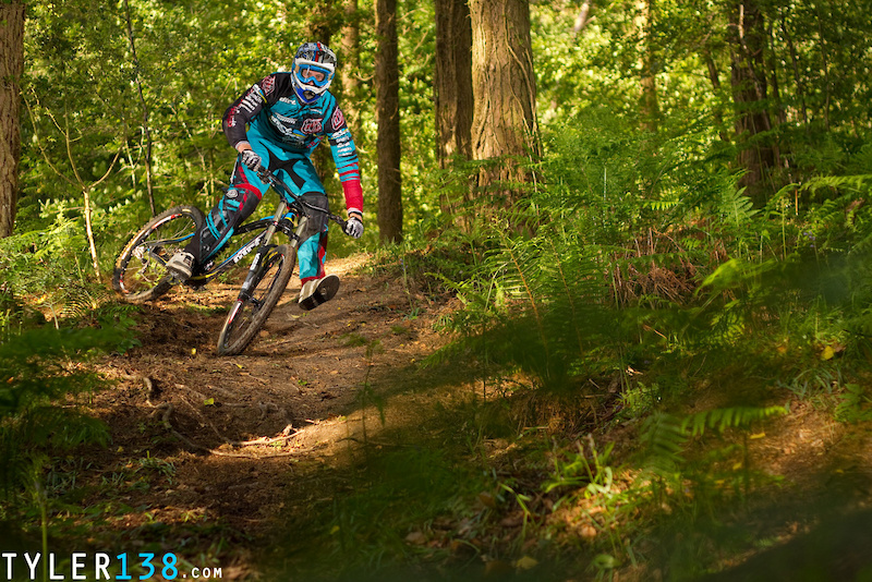 Dirt Norco rider Dan Standbridge.
