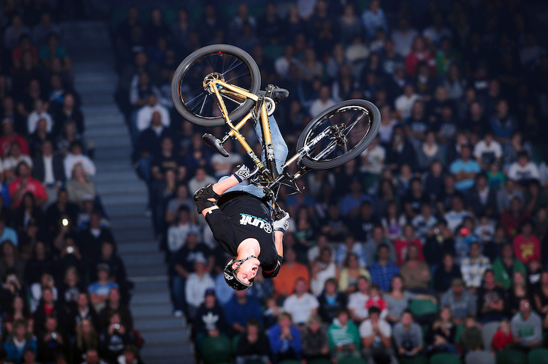 The crowd is a great motivator, both at competitions and during the Nitro Circus Live Tour