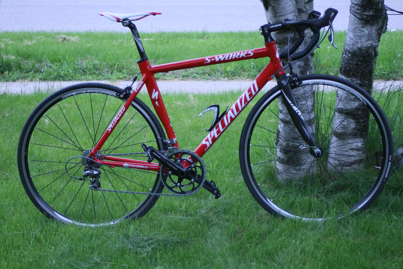 Spd Sl Pedals >> 2003 Specialized S Works E5 Aerotec 56cm For Sale