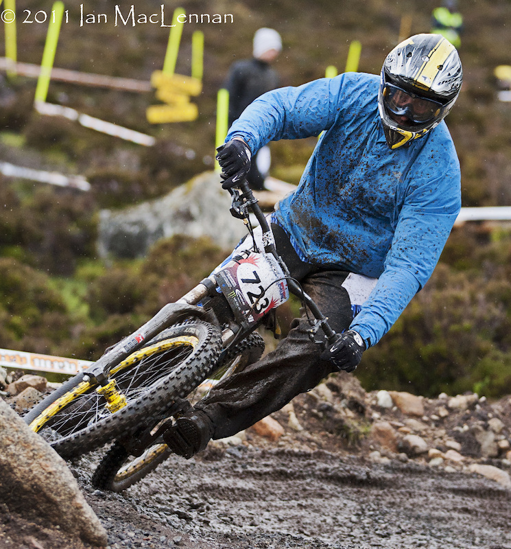 CRC/Nukeproof Nige Page, current Masters leader