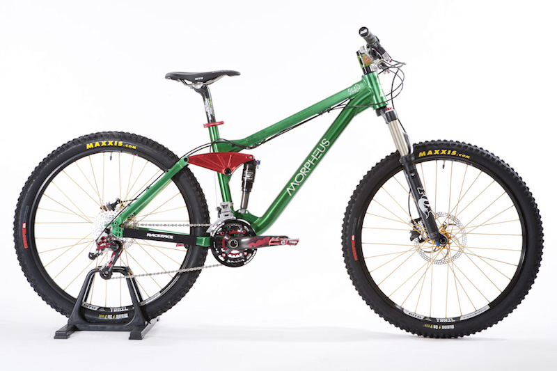 The 120mm travel all-mountain version is built to tackle rough terrain and long days in the saddle
