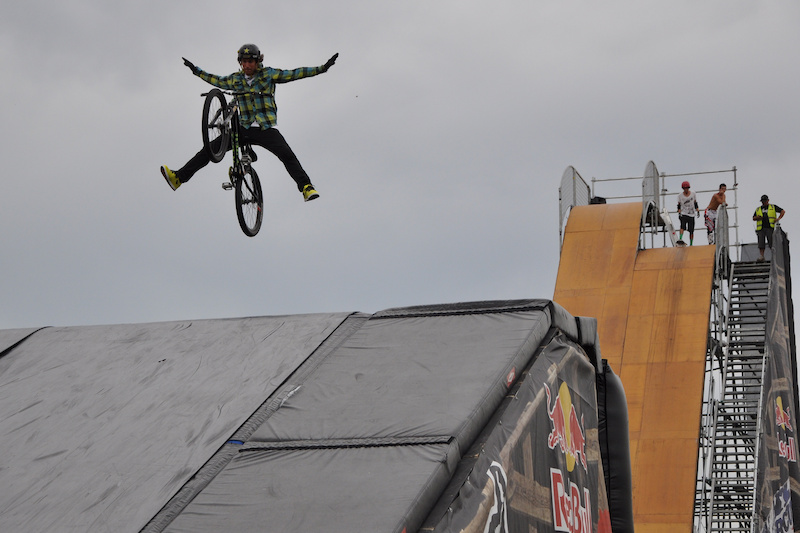 Jim invited Cam down to southern California to ride the megaramp and try out for the Nitro Circus Tour. While he was there he met his fiance and started a whole new part of his life