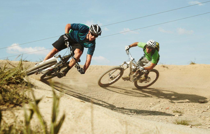 riding the berms