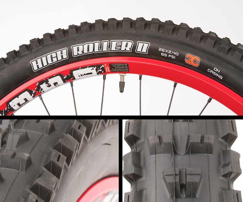 """MAXXIS HIGH ROLLER II 60TPI DUAL COMPOUND EXO 29/"""" X 2.30/"""" TUBELESS FOLDING TIRE"""