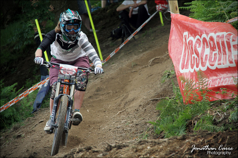 Round 4 of the HALO BDS at One Giant Leap Llangollen. 2nd place Elite Women.