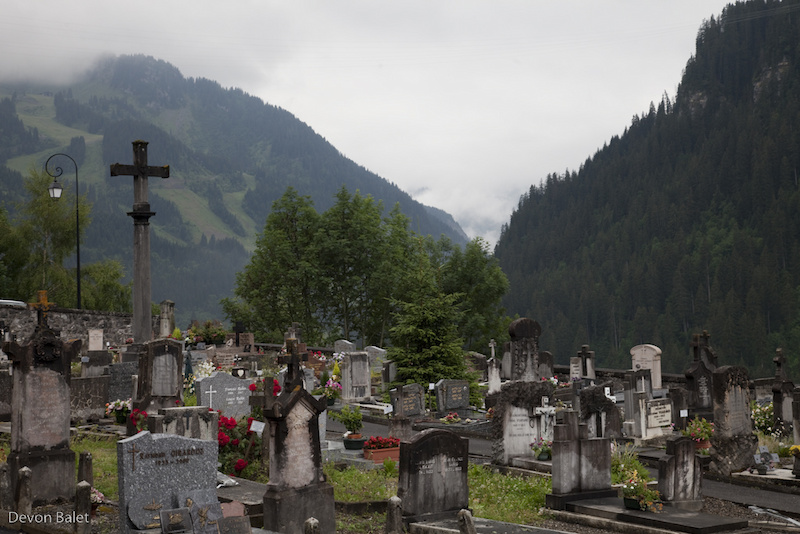 Chatel cemetery