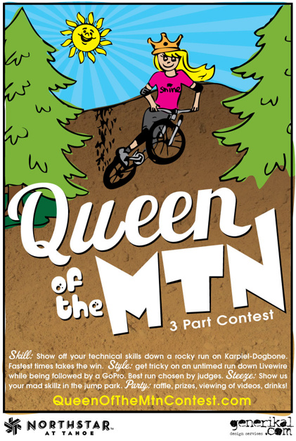 Ladies freeride contest to take place Labor Day (9/5/11) at Northstar-at-Tahoe.