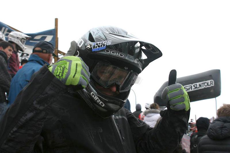 Kamil at the Mega Avalanche Alpe d Huez
