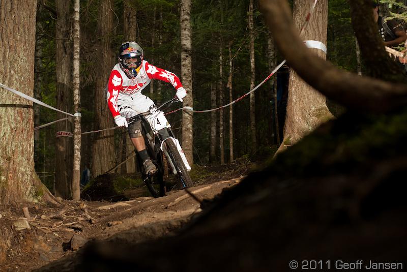 Canadian Open DH Geoff Jansen Photo