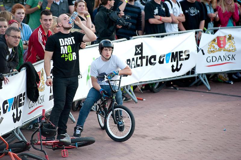 "Maciek Kiwak and Rafał Kierc during Baltic Games 2011. Photo by Jan ""Elvis"" Kiliński - http://dirtitmore.com. http://dartmoor-bikes.com"