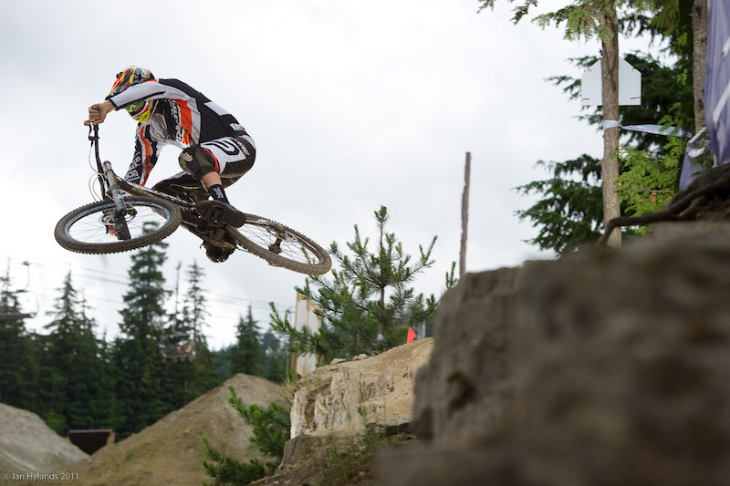 Sam Blenkinsop put in a solid run to win the 2011 Garbanzo DH