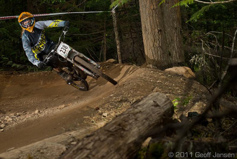 Crankworx 2011 Garbo DH Geoff Jansen Photo