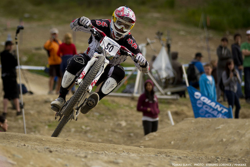 Men s first place in the GIANT slalom at Kokanee Crankworx in Whistler BC