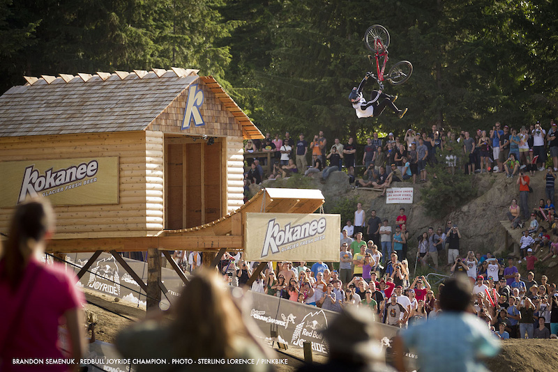 first place at 2011 redbull joyride in whistler bc